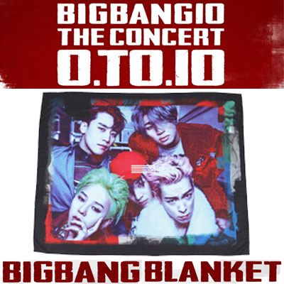 【公式グッズ】 [0TO10] BIGBANG BLANKET