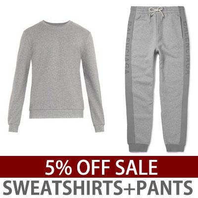 SET5%OFF)ロゴポイントスウェットシャツ+パンツセット