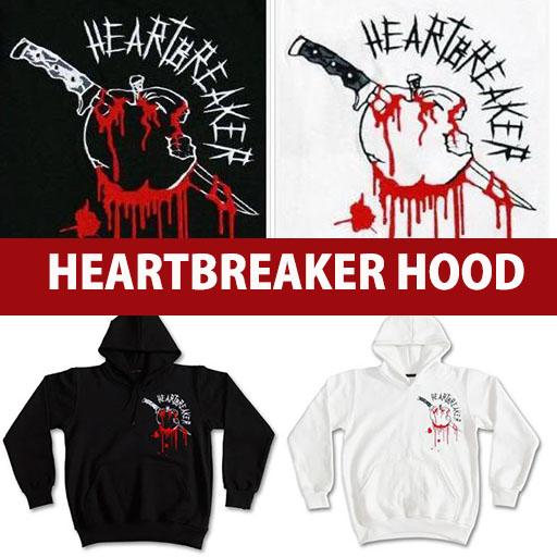 ★1330円★激安フードパーカ★G-DRAGONのHEART BREAKER ロゴパーカ/ONE OF A KIND/GIYONGCHY
