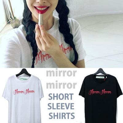 mirror mirror ショートスリーブシャツ/半袖/ソルリst。