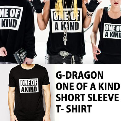 【EMS送料無料=3営業日到着】【ONE OF A KIND】G-DRAGON ワールドツアーに迎えた新商品!! ONE OF A KIND 半袖T-シャツ