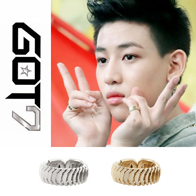 GOT7 ITEM | 韓国アイドルGOT7スタイルアイテムScaled EXTREME Gold Ring(2color)