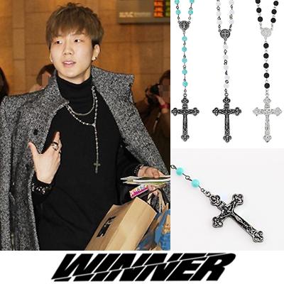 韓国アイドルWINNERのスンフン着用ネックレスアイテム!Mini ball and chain necklace(3color)