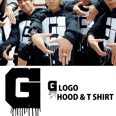 ★当日発送★ G-DRAGONのA BOY!(少年よ)時、チームパーカ&半袖T-Shirts/CRAYON/GIYONGCHY/ONE OF A KIND