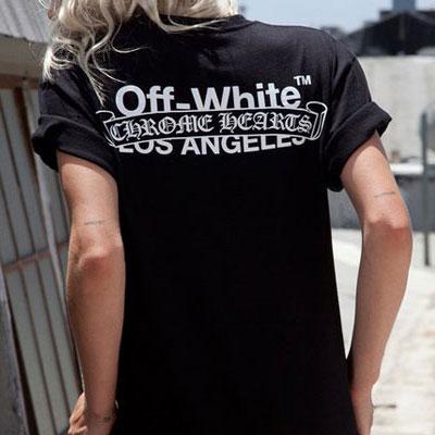 オールドイングリッシュポップアップバックプリントショートTシャツ/半袖