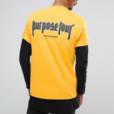 [GILDAN正規品ボディ]パーポーズバックロゴショートスリーブtシャツ/半袖