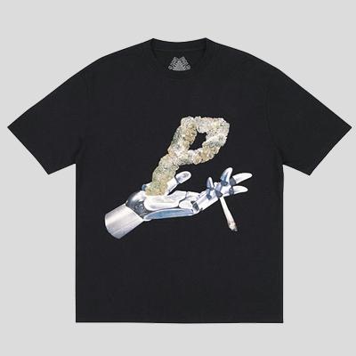 ロゴ&ロボットハンドショートスリーブTシャツ/半袖