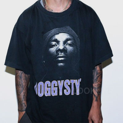 DOGGYスタイルプリントショートスリーブTシャツ/半袖