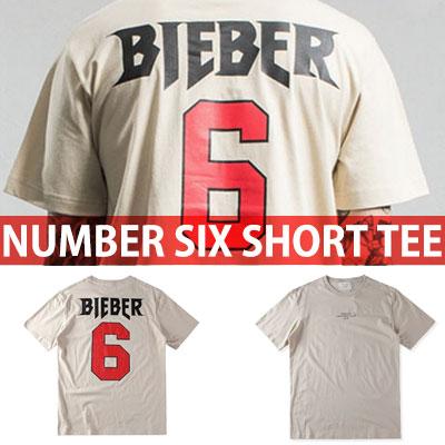 ナンバー6ロゴショートスリーブTシャツ/半袖