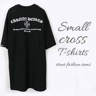 オールドレタリングオーバーサイズショートスリーブTシャツ/半袖