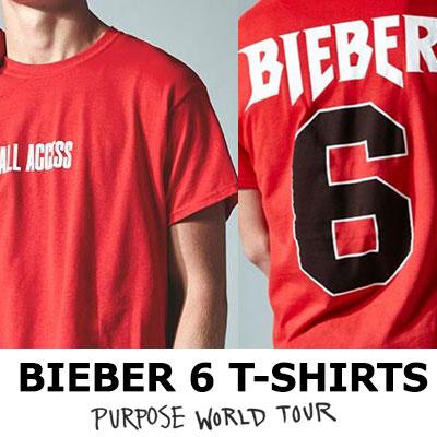 ジャスティンビーバースタイル/ALL ACCESSビーバー6 Tシャツ/ L、XL