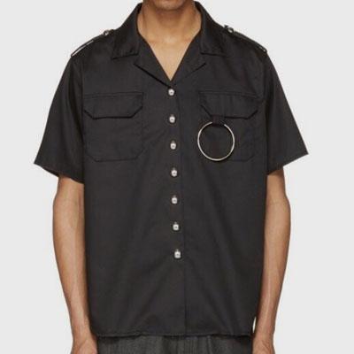 ダブルポケット&リングショートスリーブシャツ