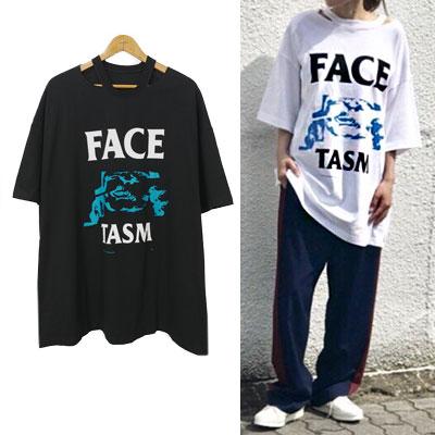 FACEロゴショートスリーブTシャツ/半袖