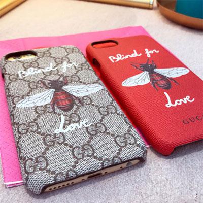 Blind for LOVE X ハチ プリンティングiPhoneケース/スマホケース/スマホカバー