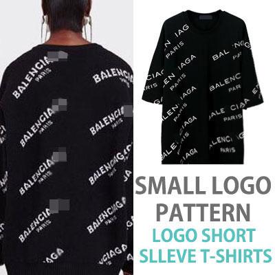 スモールロゴパターンのロゴショートスリーブTシャツ