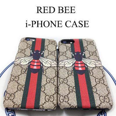 RED BEE i-PHONE ケース-6S/6SPLUS/7/7PLUS
