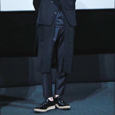 [24.5~28.5cm]韓国俳優カン・ドンウォンst。コルクハイソールクリッパー