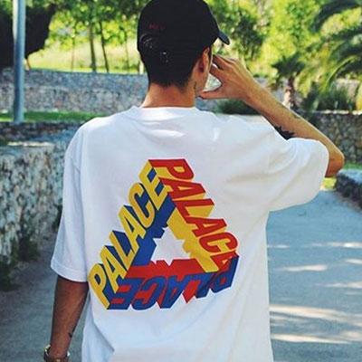 3DプリンティングトライアングルショートスリーブTシャツ