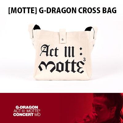 【公式グッズ】[MOTTE] G-DRAGON クロスバッグ