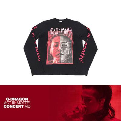 【公式グッズ】[MOTTE] G-DRAGON ロングスリーブTシャツ_タイプ2