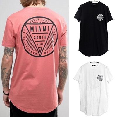 マイアミサウスロゴショートスリーブTシャツ
