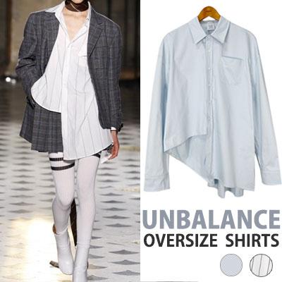 EXO, SANDARA st.アンバランスオーバーサイズシャツ