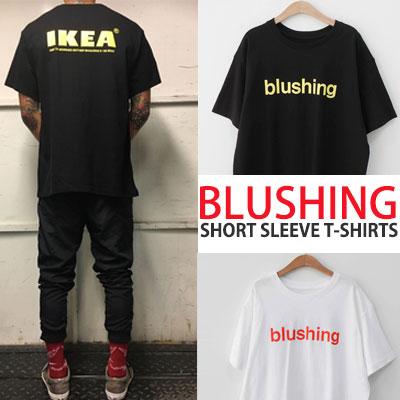 BLUSHINGショートスリーブT-シャツ/半袖