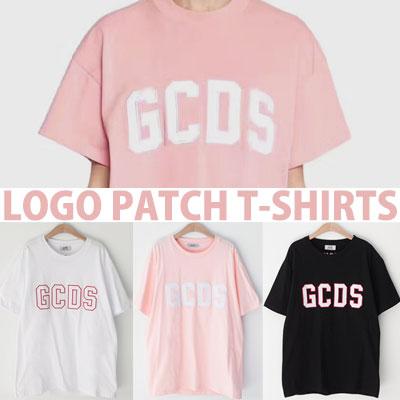 ロゴのパッチショートスリーブTシャツ