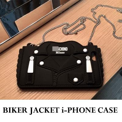 バイカージャケット i-PHONE ケース(6/6S/6+.6S+/7/7+)