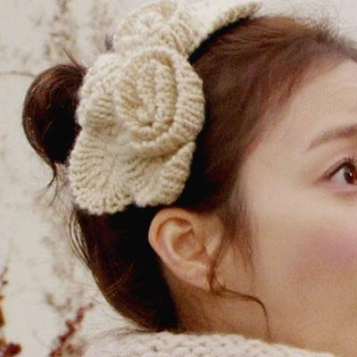 韓国ドラマ通販|「マイプリンセス」キム・テヒ ニットフラワーカチューシャ お待ちかねの再入荷!!