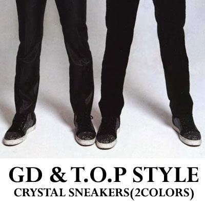 ★ゲリラ割引★GD&TOPファッション★キュービックいっぱいスニーカー/Knock out(ポギガヨ)/BIGBANG