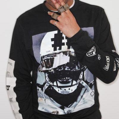 大人気のストリートファッション|BTS(防弾少年団)が着用したHBAst.ラグビーマン長袖Tシャツ