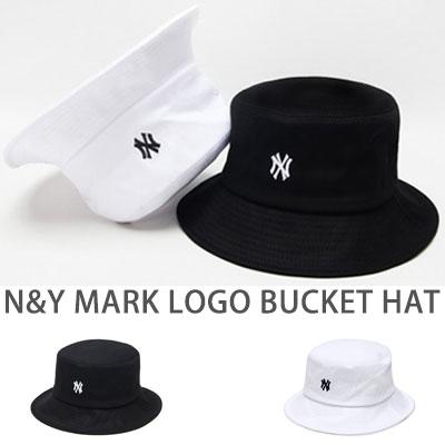 N&Yマークロゴバケットハット