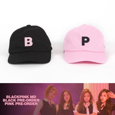 【公式グッズ】ブラックピンクボールキャップ(ブラック/ピンク)