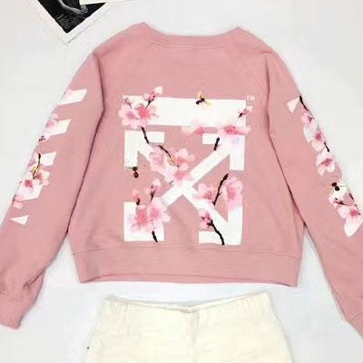 【FEMININE】ピンクブロッサムスウェットシャツ(S/M/L)