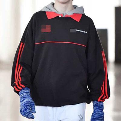[UNISEX] レッドラインポイントスウェットシャツ(2color)