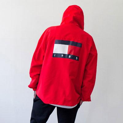 [UNISEX] ビビッドブロックアノラックジャケット(2color)