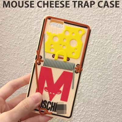 [UNISEX] マウスチーズトラップスマホカバー/スマホケース/iPHONE