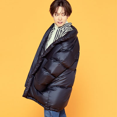 [8seconds] WINNER style!オーバーサイズハーフネックダックダウンジャケット/SongMiNo/KangSeungYoon/KimJinWoo/LeeSeungHoon