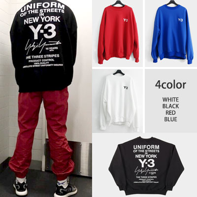[UNISEX] ユニフォームロゴニューヨークスウェットシャツ(4color)