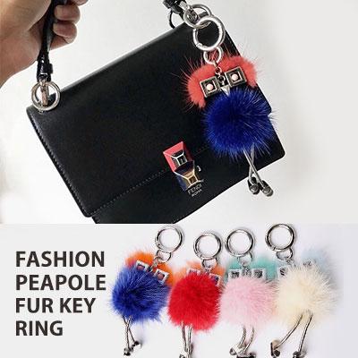 ファッションピープルファーキーリング(4color)