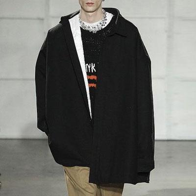 [UNISEX] 超オーバーサイズフィットダウンデニムシャツコート(2color)