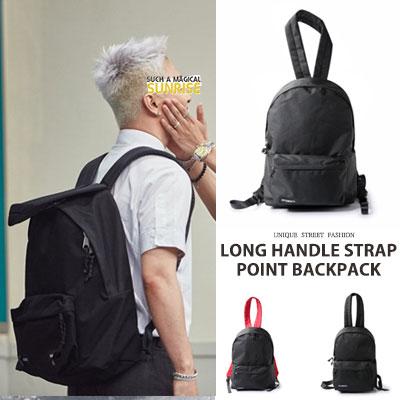 [UNISEX] BIGBANG TAEYANG/SANDARA st. ロングハンドルストラップポイントバックパック(2type,2size)