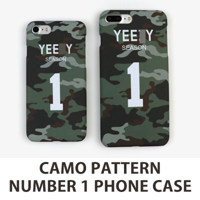カモパターンナンバー1 iPHONE スマホカバー/スマホケース