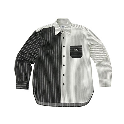 【2XADRENALINE】ストライプカラーマッチシャツ