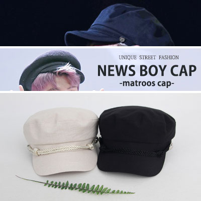 [UNISEX] 防弾少年団 BTS V & RM style. ニュースボーイキャップ -matroos cap-(5color)
