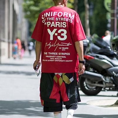 [UNISEX] CITYロゴプリントショートスリーブTシャツ(4color)
