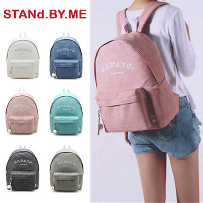 【STANd.BY.ME】Always backpack/リュック (6color)
