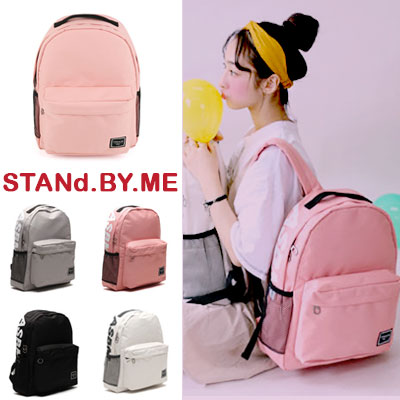 【STANd.BY.ME】SIGNATURE BACKPACK/バックパック/リュック(5color)