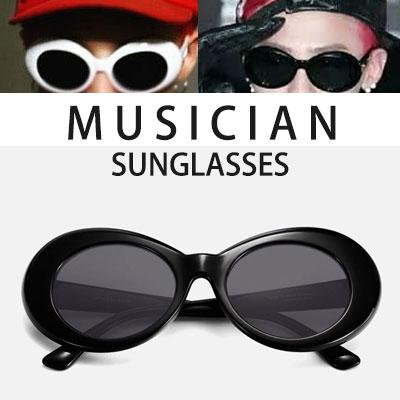 G-DRAGON愛用のサングラス!KURT COBAIN サングラス(WHITE,BLACK)